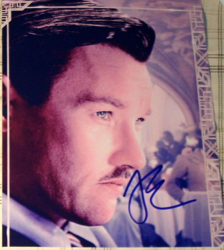 "JOEL EDGERTON SIGNED AUTOGRAPH ""THE GREAT GATSBY"" PROMO POSTER 8X10 PHOTO COA"