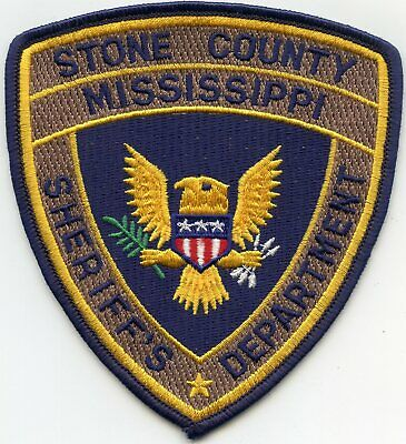 Used, STONE COUNTY MISSISSIPPI MS SHERIFF POLICE PATCH for sale  Atlanta