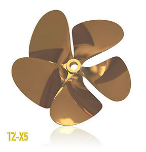 OJ-TZ-X5-Inboard-Propeller-Left-Hand-Nibral-1-1-8-Shaft-5-Blade-for-5-7L-6-0L