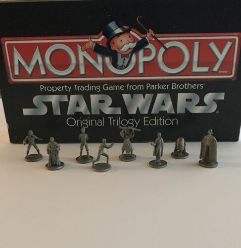 Monopoly Star Wars Original Trilogy Edition Replacement Parts 8 Tokens - $5.99