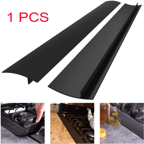 Kitchen Stove Silicone Counter Gap Cover Guard Spill Seal Slit Filler Tools 21″ Home & Garden