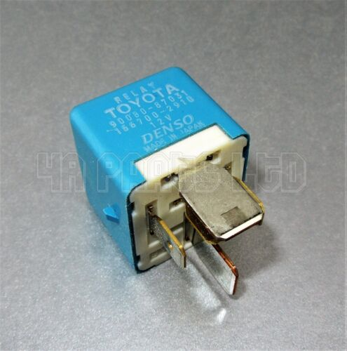 R201/ Toyota Lexus Multi-Use Blue Relay Denso 90080-87031 AH156700-2910 (5-Pin)