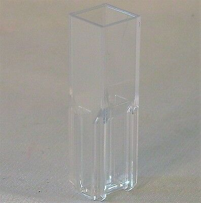 Pack 100 Visible Spectrometer Spectrophotometer Cuvette 1cm Micro Disposable