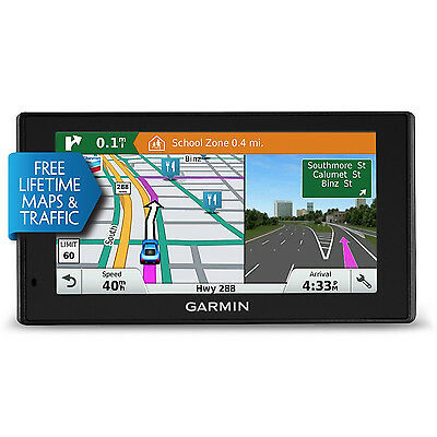 Garmin Drivesmart 60Lmt 6  Gps W Bluetooth Lifetime Maps   Traffic 010 01540 01