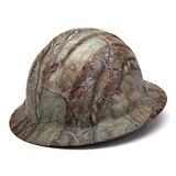 Pyramex Ridgeline Hard Hat Camouflage Pattern Full Brim Ratchet, HP54119