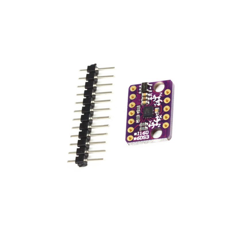 6-axis Rate Gyro BMI160 6DOF Gravity Accelerometer Sensor Module IIC SPI NEW