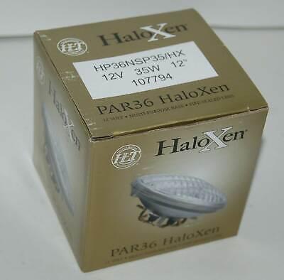 Halogen Narrow Spot Beam - (QTY 2) HALCO PAR36 Haloxen Narrow Beam Spot 12Deg 12V 35W 1077794 HP36NSP35/HX