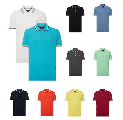CHRISTIAN BERG Herren Polo Shirt Hemd Baumwolle Pique Sommer Kurzarm NEU (Christian Polo-shirts)