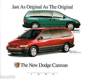 1996 dodge grand caravan brochure catalog le ebay. Black Bedroom Furniture Sets. Home Design Ideas