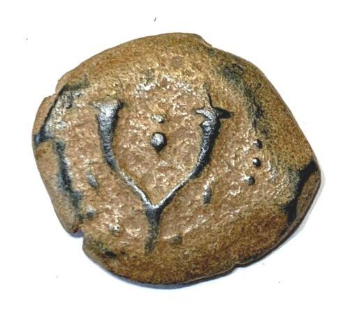ANCIENT JUDAEA, JEWISH COIN ALEXANDER JANNEAUS; 104-76 B.C. JERUSALEM!