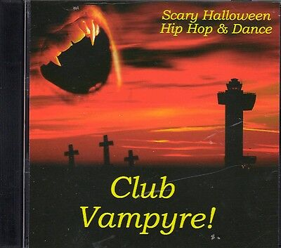 Halloween Music With Sound Effects (CLUB VAMPYRE: HALLOWEEN HIP HOP & DANCE PARTY MUSIC CLUB MIX with SOUND)