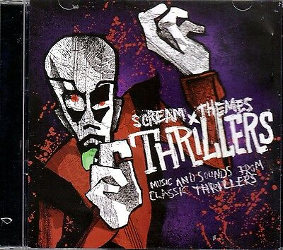 HALLOWEEN SCREAM THEMES THRILLERS MUSIC & SOUNDS FROM CLASSIC MOVIES & FILMS NEW