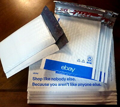 Ebay Branded Airjacket Padded Envelopes Poly Bubble Plastic Mailers Lot Of 12