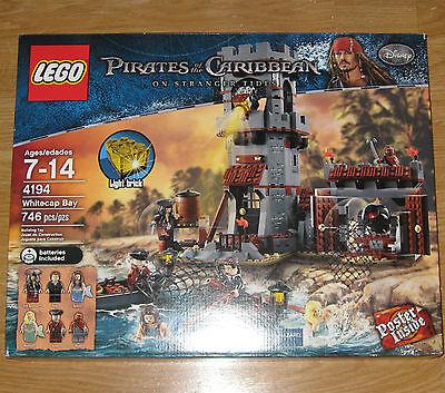 Lego Pirates Of The Caribbean On Stranger Tides 4194 Whitecap Bay Sealed