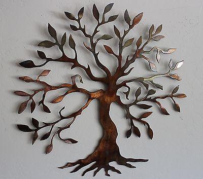 Olive Tree --Tree of Life    Metal Wall Art Decor