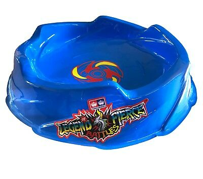 Stadium Thunder (Beyblade Blue Battle Stadium Arena Pegasus Thunder Whip Beystadium USA)