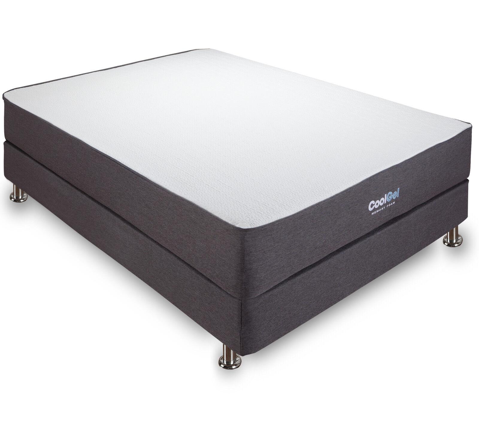 """Cool Gel 10.5"""" Ventilated Gel Memory Foam Mattress, Multiple"""