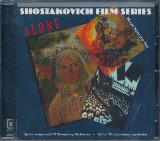 Music from the film ALONE Shostakovich CD BEW Walter Mnatsakanov conducts