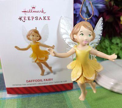 Daffodil Ornament - Hallmark Daffodil Fairy Messenger ornament 2014 #10 in series