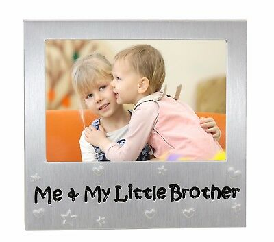 """Me and My Little Brother Photo Frame - Photo Size 5"""" x 3.5"""""""