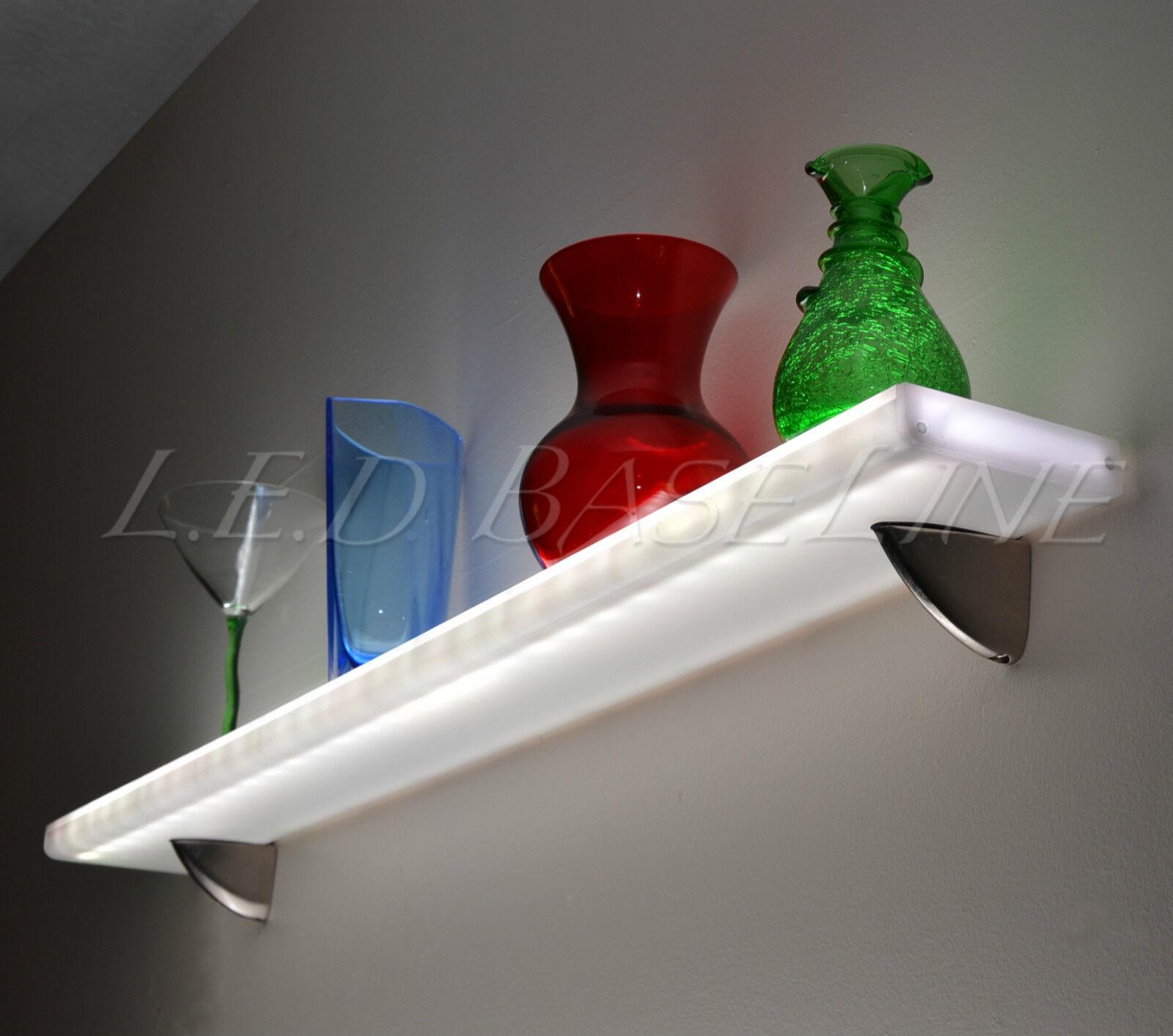 """60"""" Lighted Liquor Bottle Bar Shelves LED lighted Wall"""