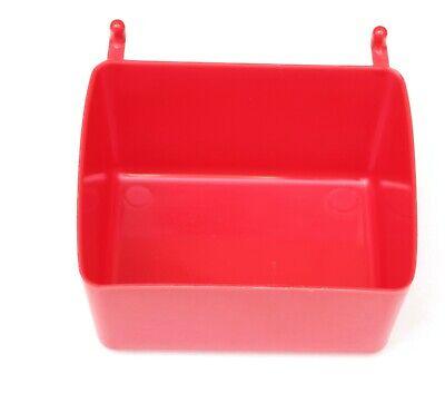 Small Plastic Red Pegboard Storagepart Bins Multi-pack Pricing Jsp Brand