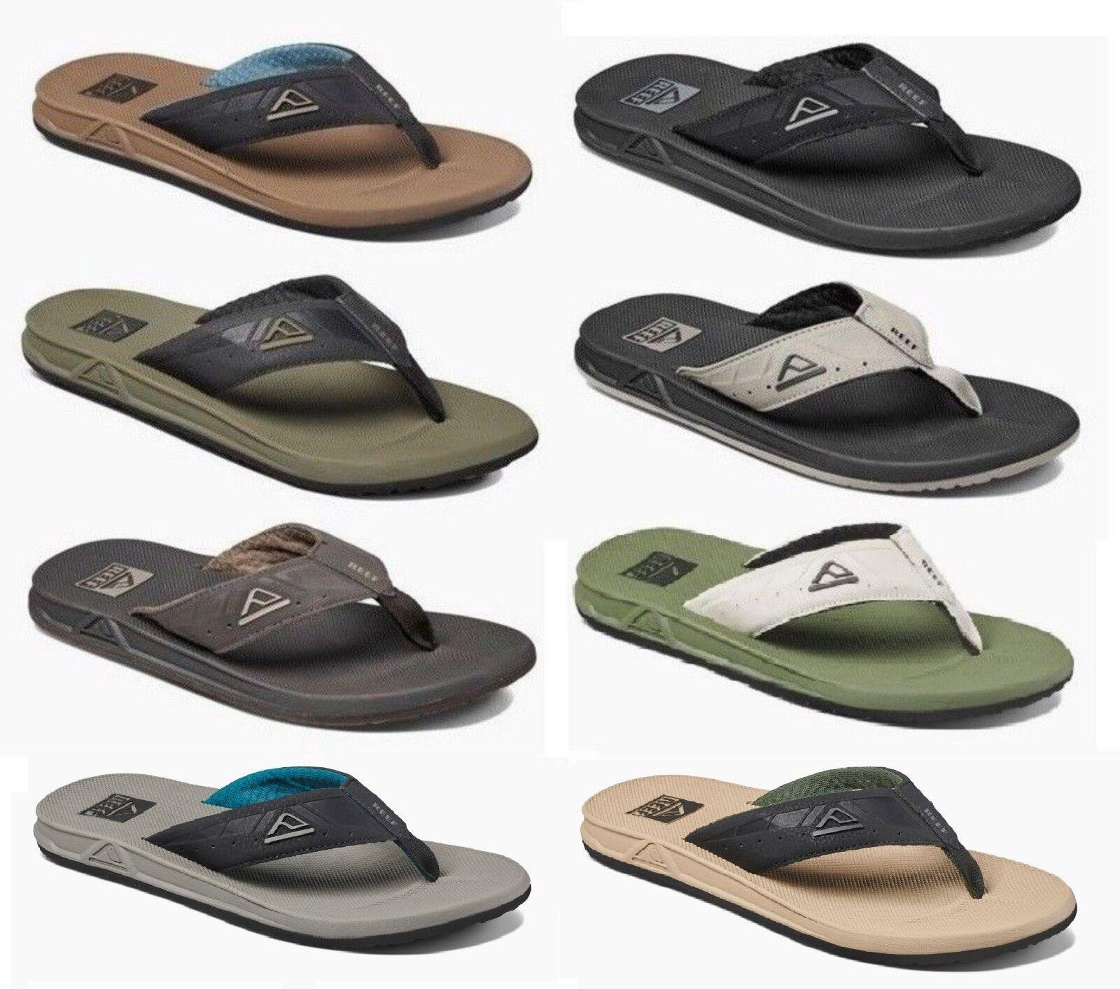 Reef Men's Phantoms Water Beach Flip Flops Sandals Sizes 7 8 9 10 11 12 13 14 15