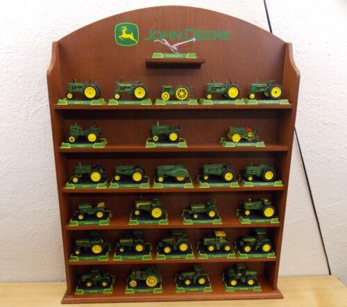 Great John Deere Tractors Collection Danbury Mint 27 Piece Set With Display