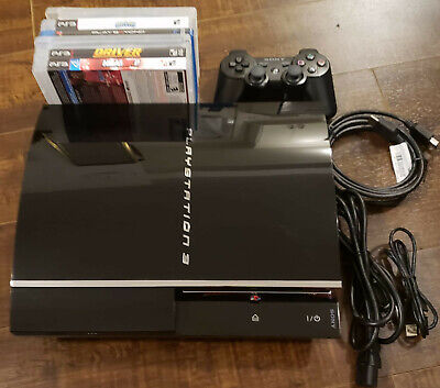 SONY PLAYSTATION 3 PS3 FAT 60GB BACKWARDS COMPATIBLE PS2, PS1 CECHAO1...WORKING!