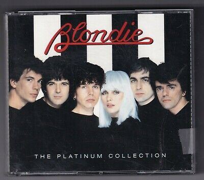 CD : Blondie - The Platinum Collection (2cd box)