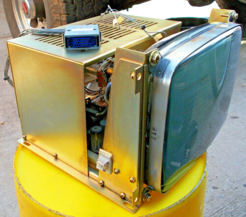 MATSUURA MC-510V CONTROL PANEL MONITOR with CABLE Matshushita 230BTB(QB) Monitor