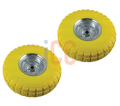 Sack cart trolley wheel tire replacement 10