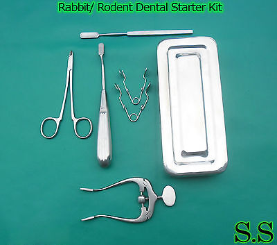 Rabbit Rodent Dental Starter Kit Veterinary Dental