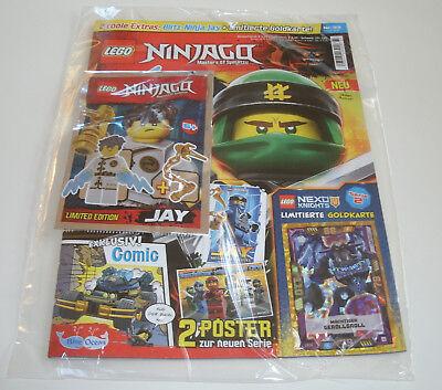 LEGO Ninjago - Magazin Nr. 33 mit Jay und Limitierte Karte