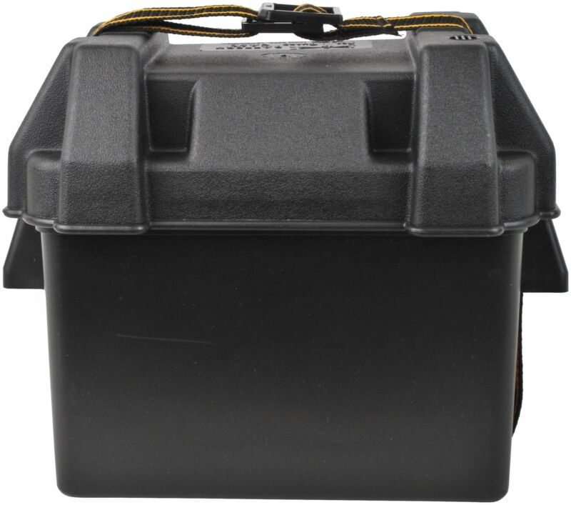Attwood Corporation 9082-1 Small Battery Box, Black