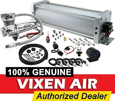 Air Suspension Kit/System for Truck/Car Bag/Ride, 200psi Compressor, 2.5G Tank