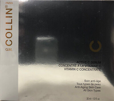G.M. Collin Active C Serum Vitamin C Concentrate - 4 x (30 ML / 1 oz) Exp.2 /19