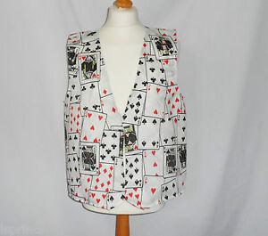 poker card design vest