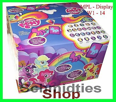 My Little Pony - 24er Display  W1 - 14  (NEU/OVP)