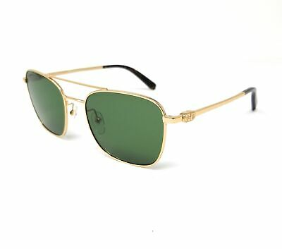 Salvatore Ferragamo Sunglasses SF158S 717 Gold Navigator Men's 53x18x140