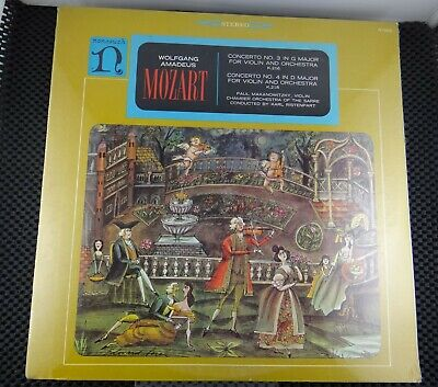 Mozart (Nonesuch – H-71056) Concerto No. 3 In G Major For Violin And Orchestra