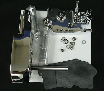 Complete Forged Polished Oil Pump for Harley Big Twin 1973-1991