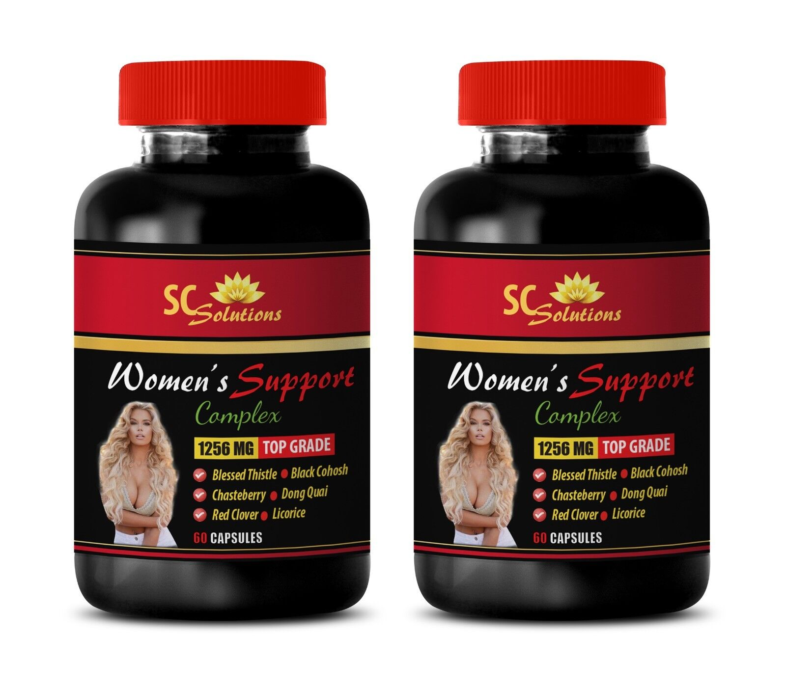 Support mood - WOMEN'S SUPPORT PREMIUM COMPLEX -2B- Black co