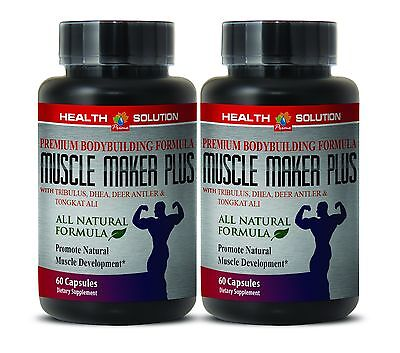 Octacosanol   Muscle Maker Plus   Sexual Health   Lean Muslce   2Bot 120Ct
