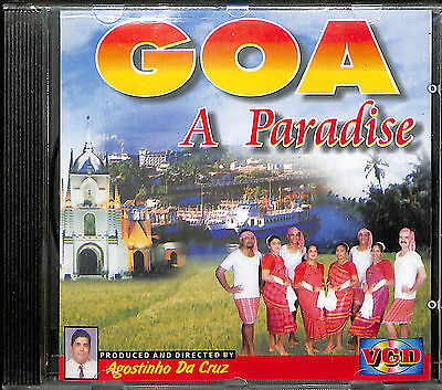 Goa - A Paradise - Informational Video VCD Format Goan India Travel
