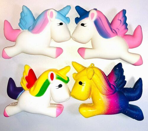 Squishieees Unicorn Super Slow Rising Stress Reliever Kids Fun Toy Creamy Scent