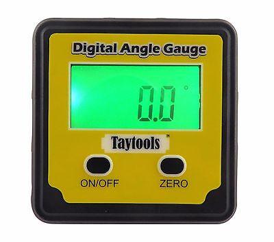 Taytools Angle Cube Digital Level Inclinometer Bevel Box W Back Lit Display