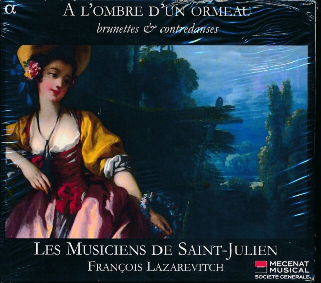 Les Musiciens de Saint-Julien CD NEW Francois Lazarevitch A L'ombre D'un Ormeau