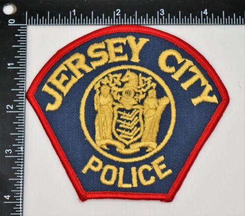 JERSEY CITY NEW JERSEY POLICE PATCH Vintage Original