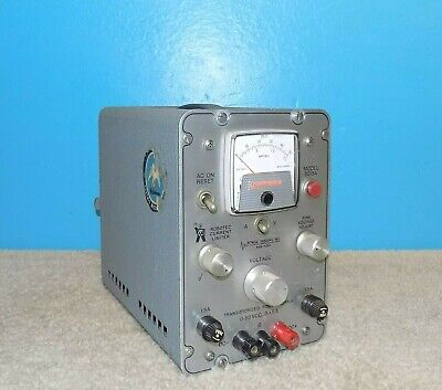 Pd Power Designs Inc. 5015a Dc Power Supply 0-50vdc 1.5a Working Free Shipping
